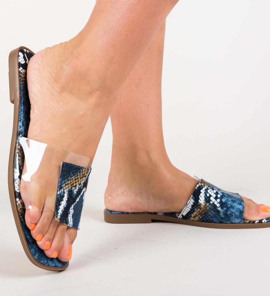 Papuci Tarlon Albastri