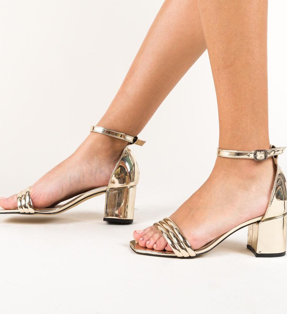 Sandale Bixi Aurii