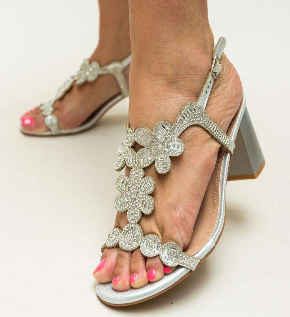 Sandale Callie Argintii