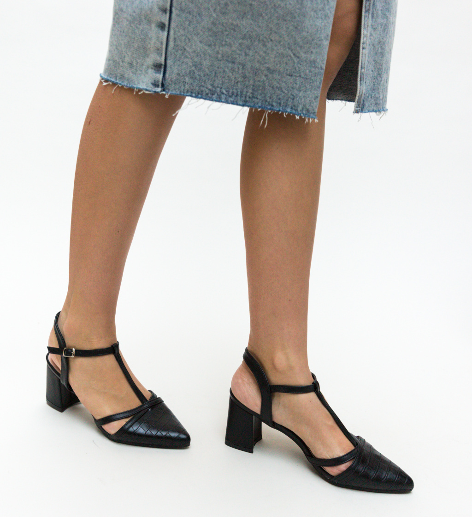 Sandale Cinar Negre