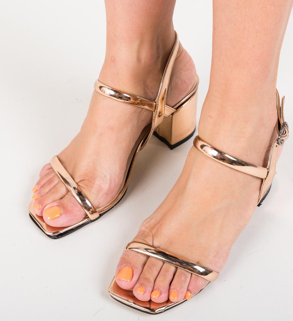 Sandale Cotanca Aurii 2 imagine 2021