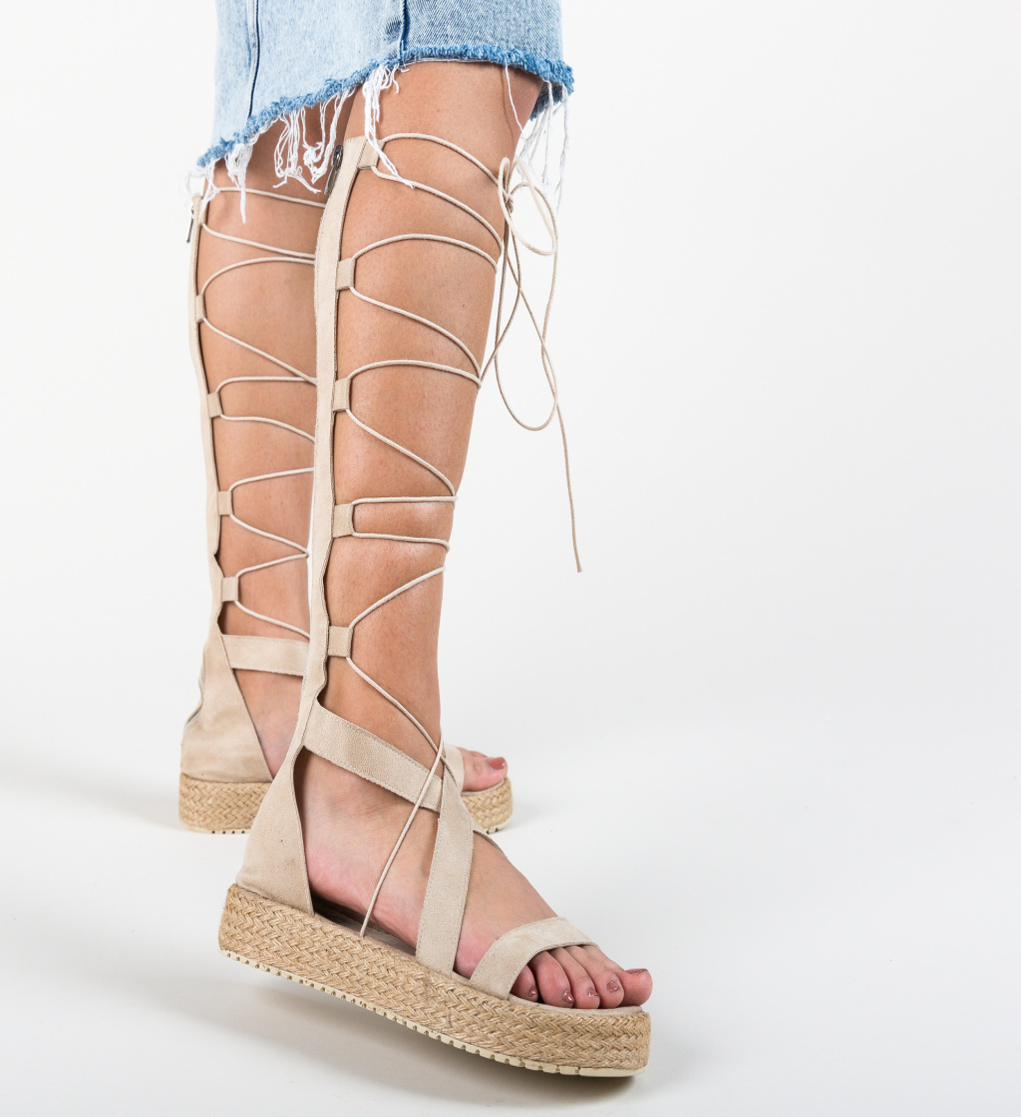 Sandale Deziren Bej 2