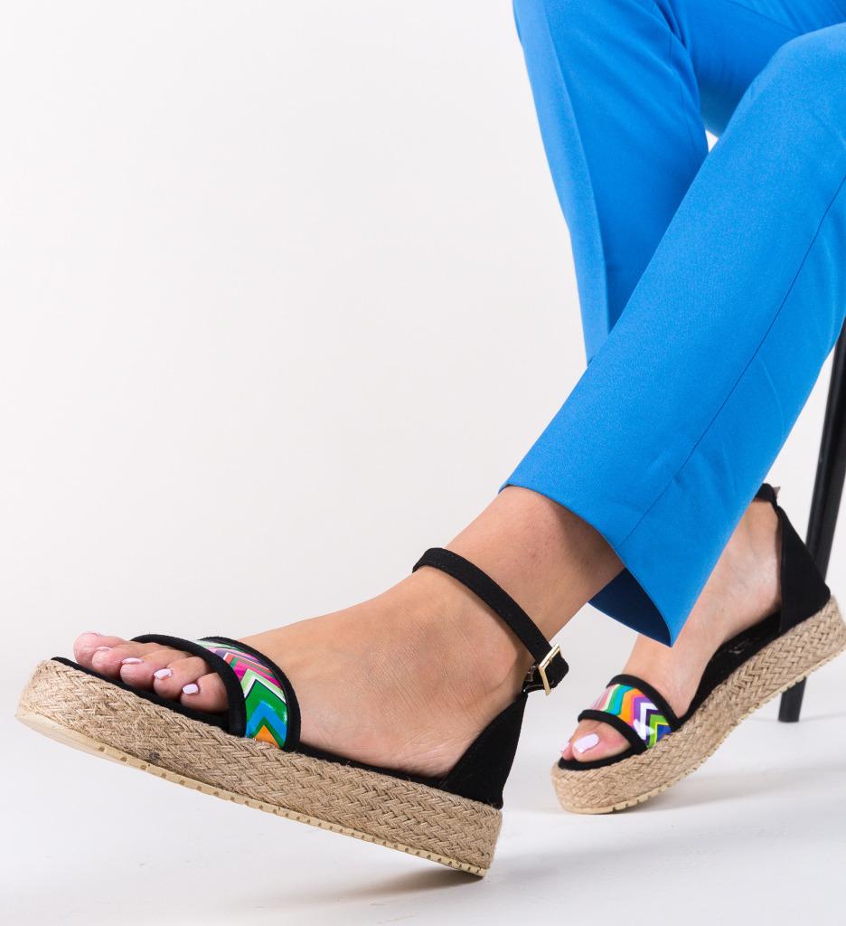 Sandale Fiko Negre