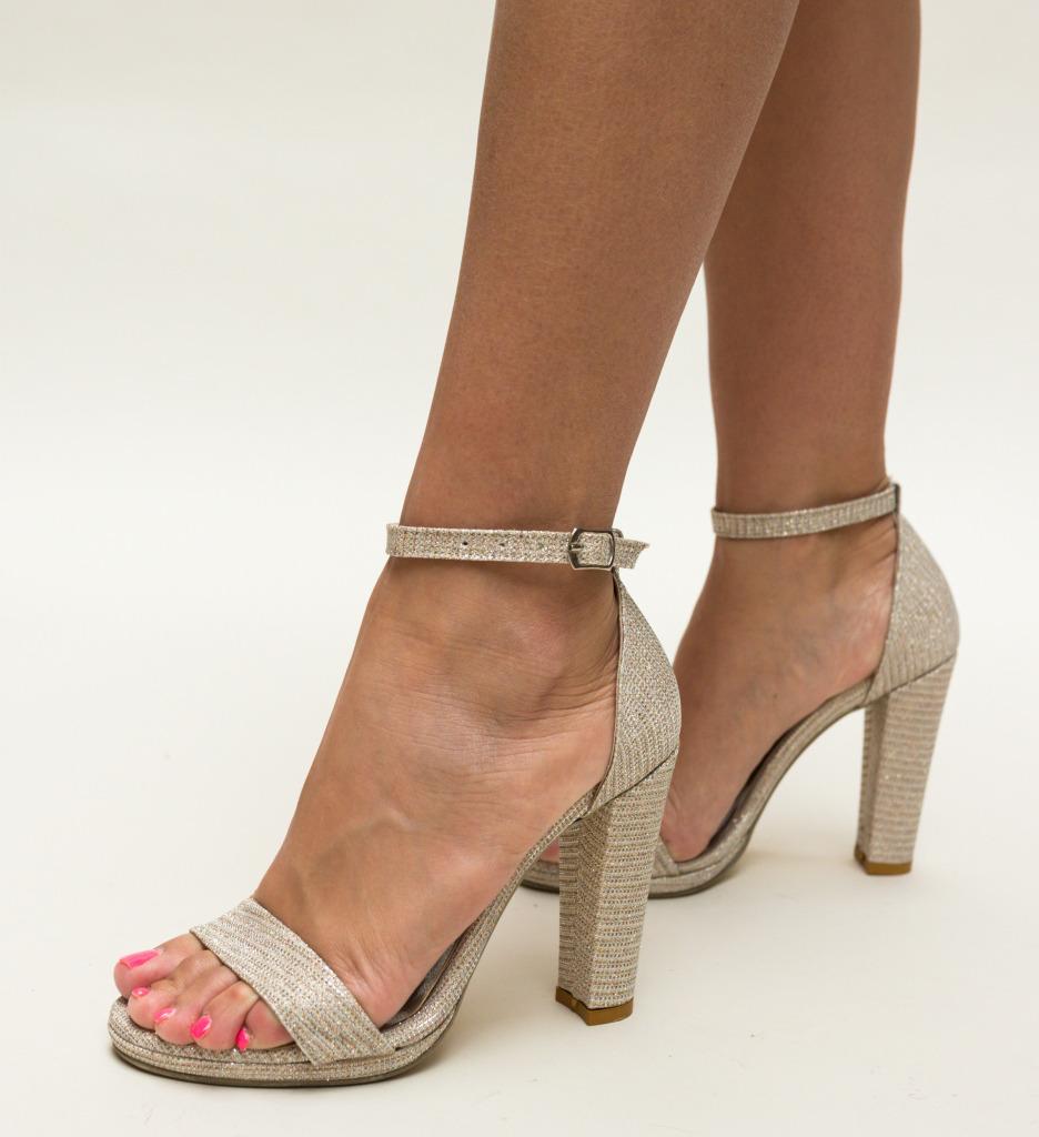 Sandale Holdex Aurii 3