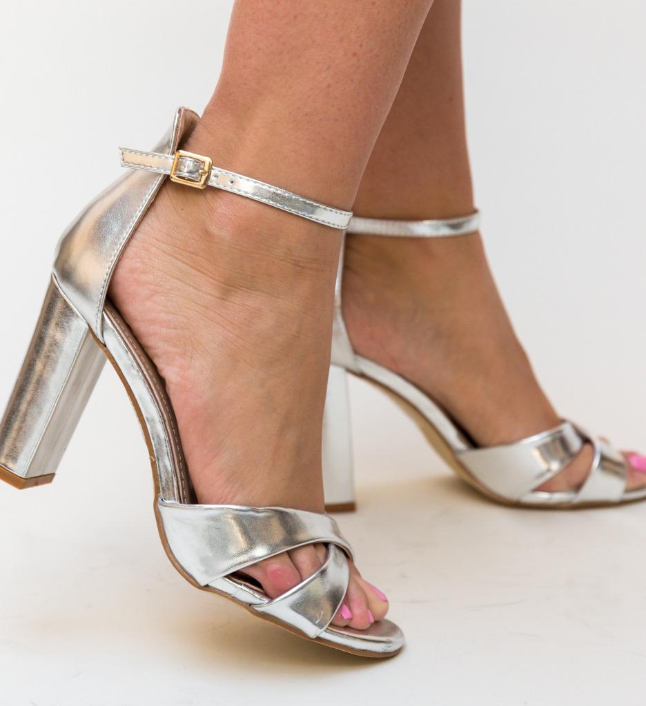Sandale Kaye Argintii