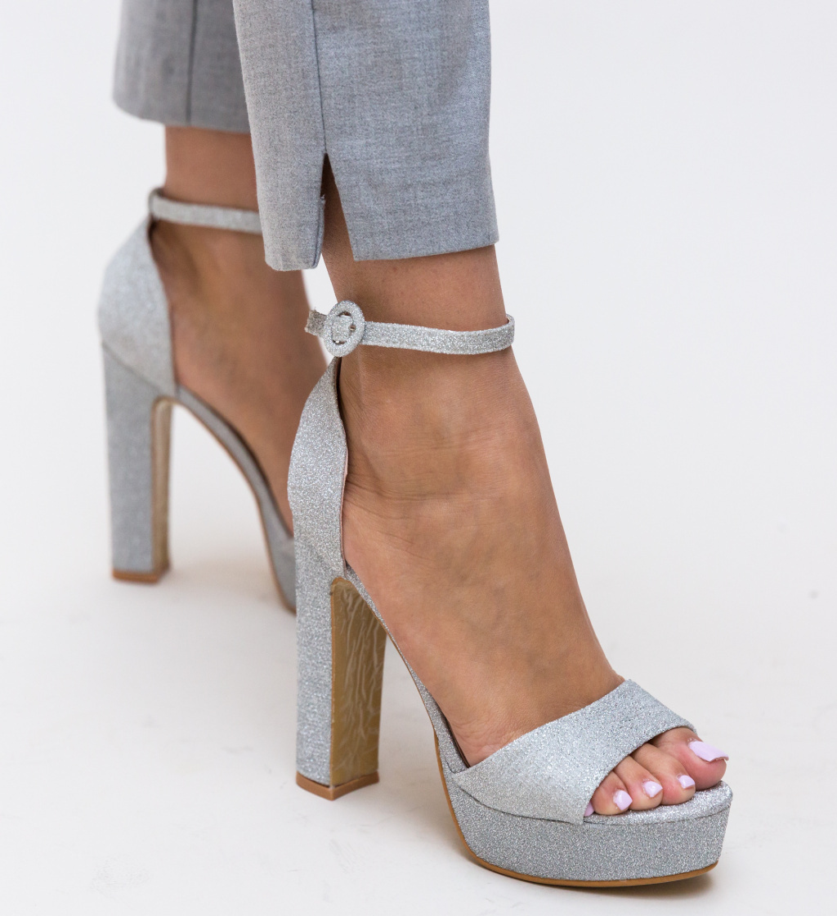 Sandale Lilana Argintii