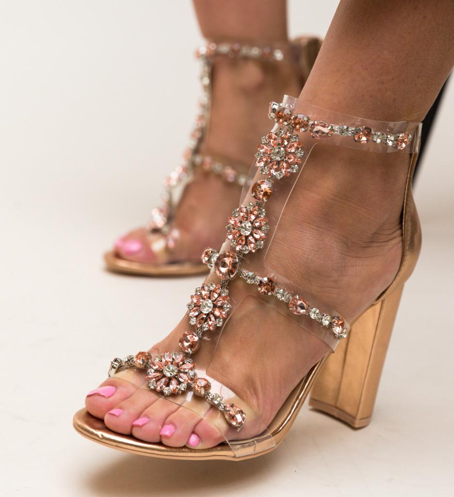 Sandale Mocanio Aurii