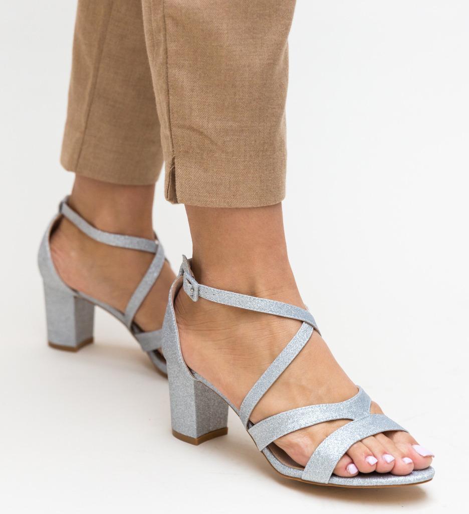 Sandale Nino Argintii