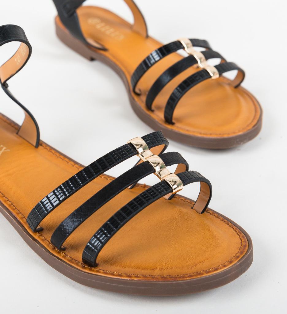 Sandale Sepina Negre imagine