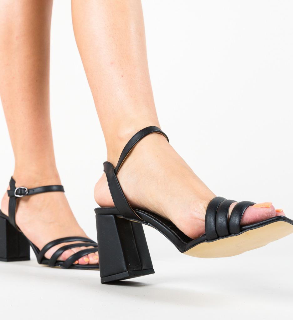 Sandale Sodio Negre
