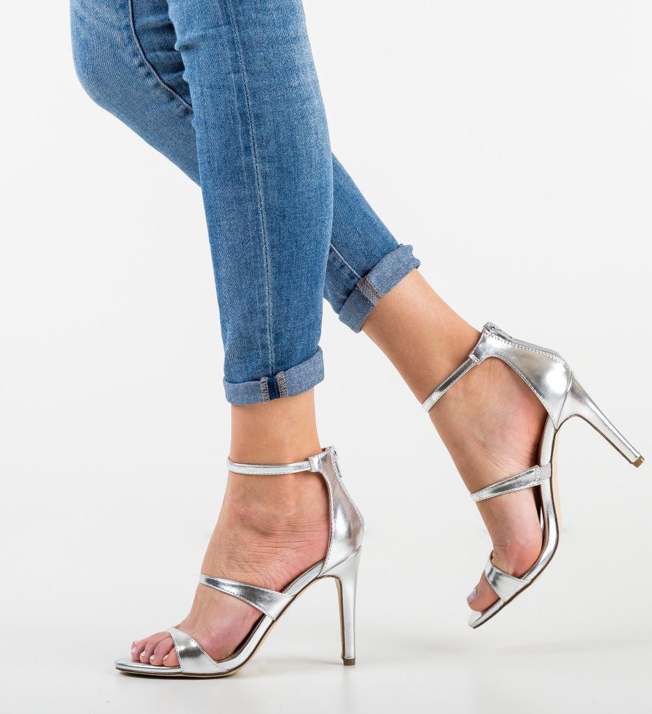 Sandale Sumner Argintii