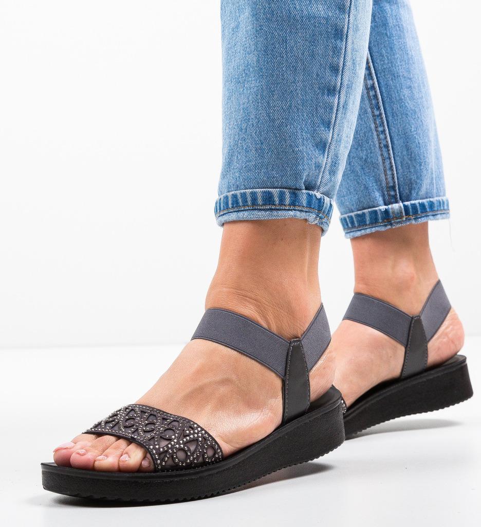 Sandale Sundey Gri 2