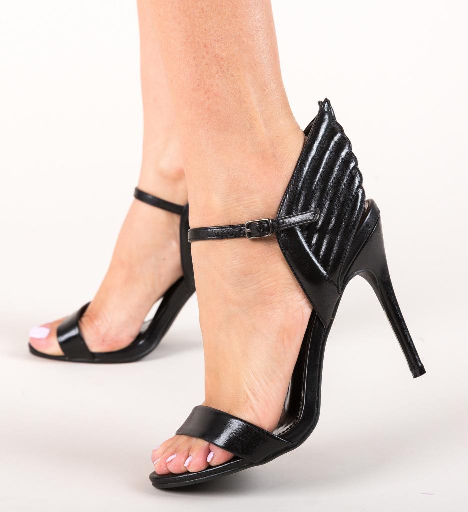 Sandale Zeba Negre