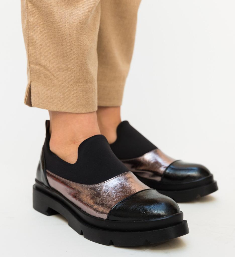 Pantofi Casual Alzhai Gri 2