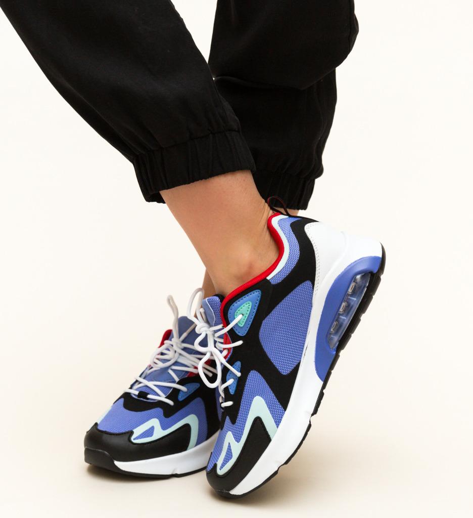 Pantofi Sport Faisal Albastri