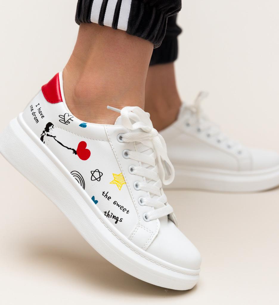 Pantofi Sport Lalio Rosii