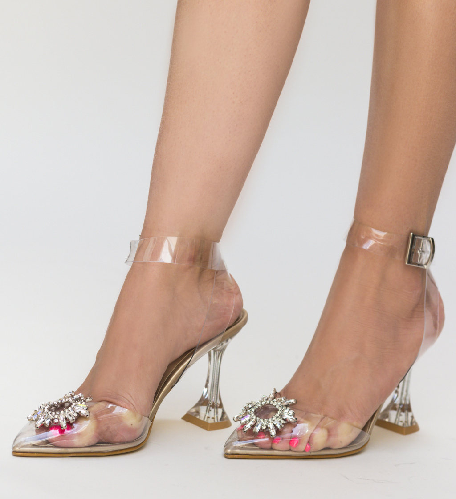 Pantofi Escalibur Aurii