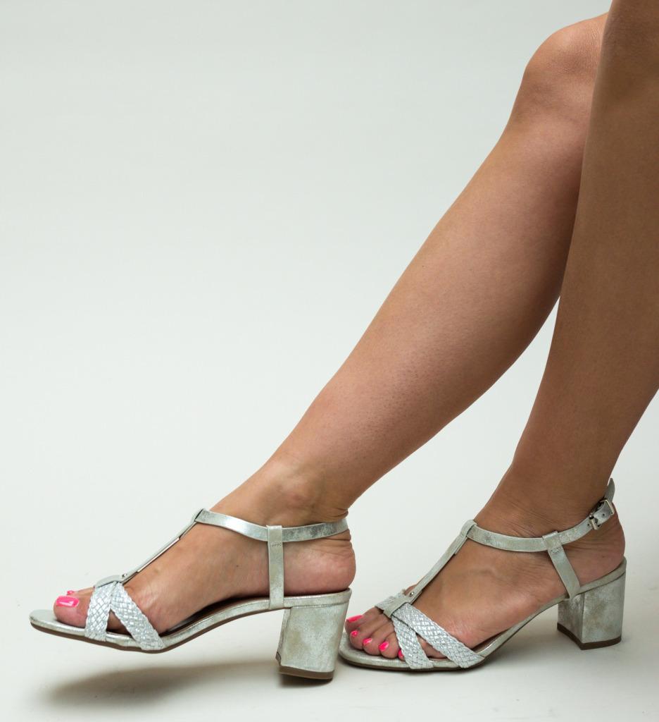 Sandale Pear Argintii