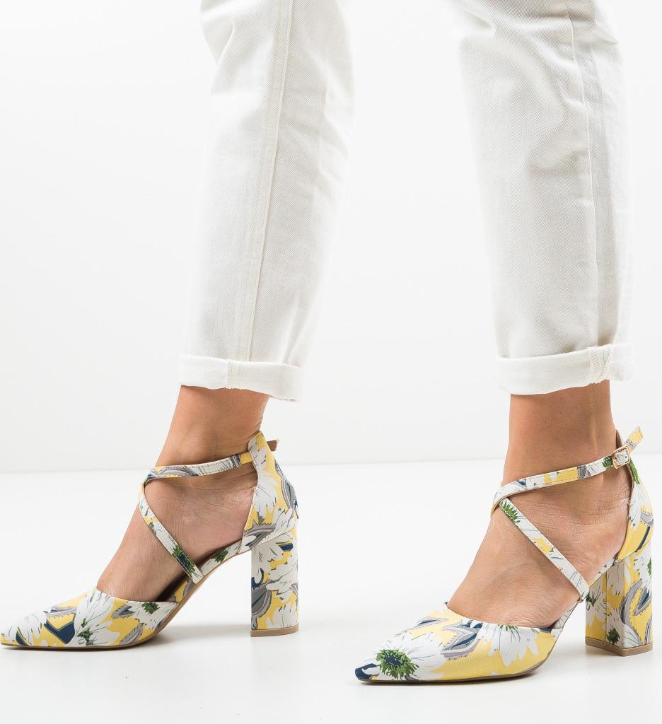 Pantofi Amri Galbeni