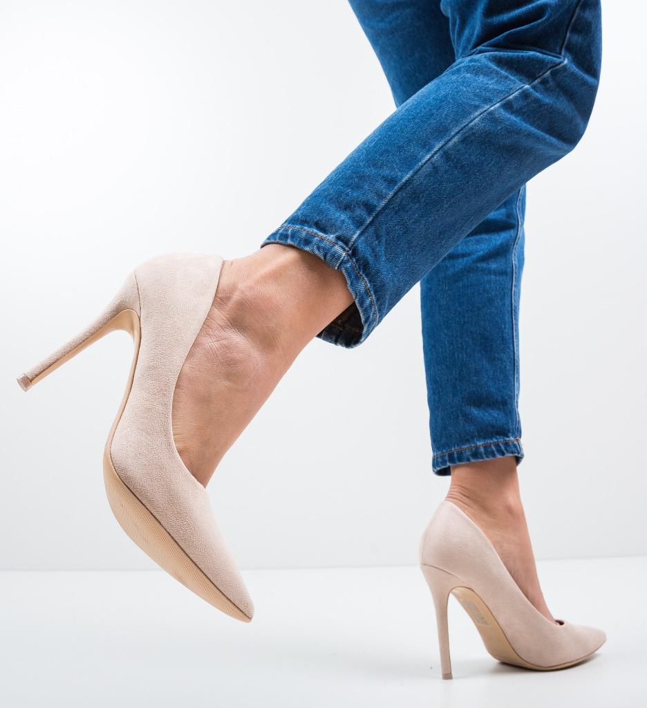 Pantofi Ande Bej