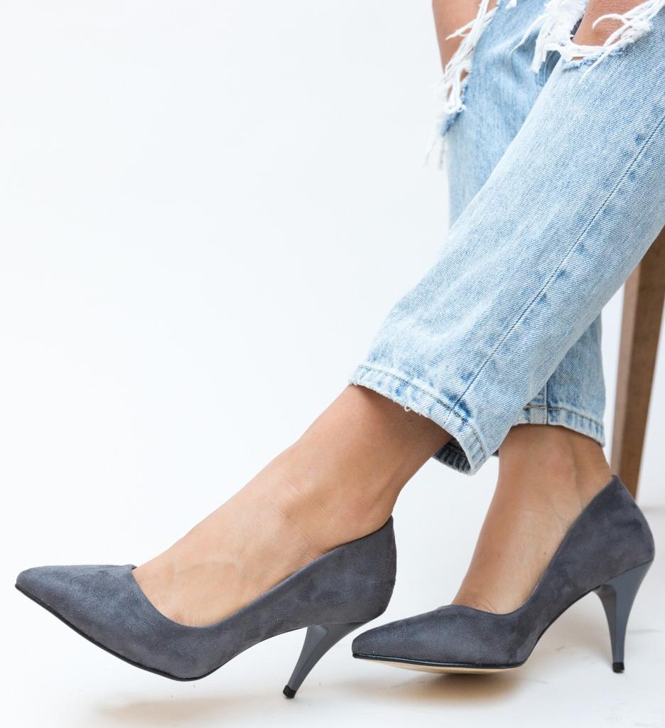Pantofi Buhas Gri