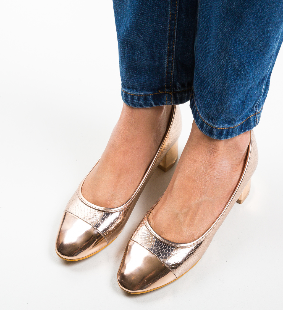 Pantofi Camro Aurii 2