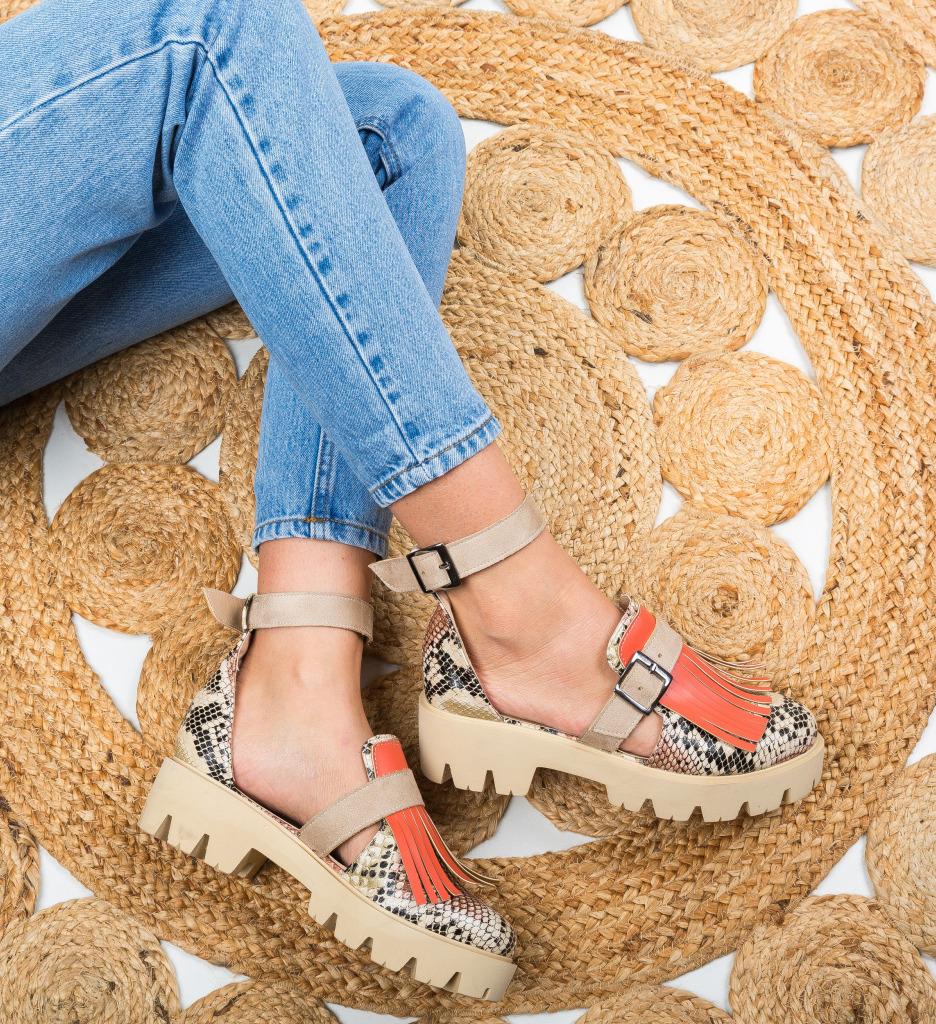 Pantofi Casual Akira Bej
