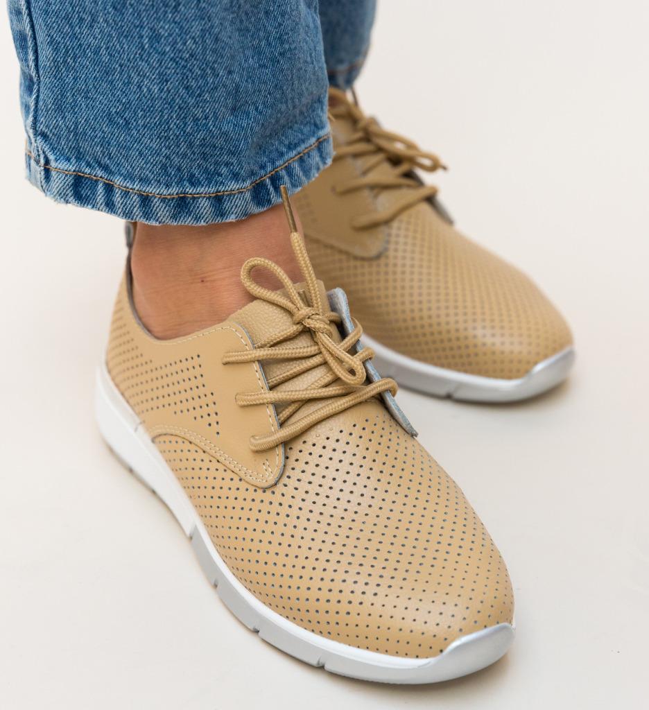 Pantofi Casual Albert Bej