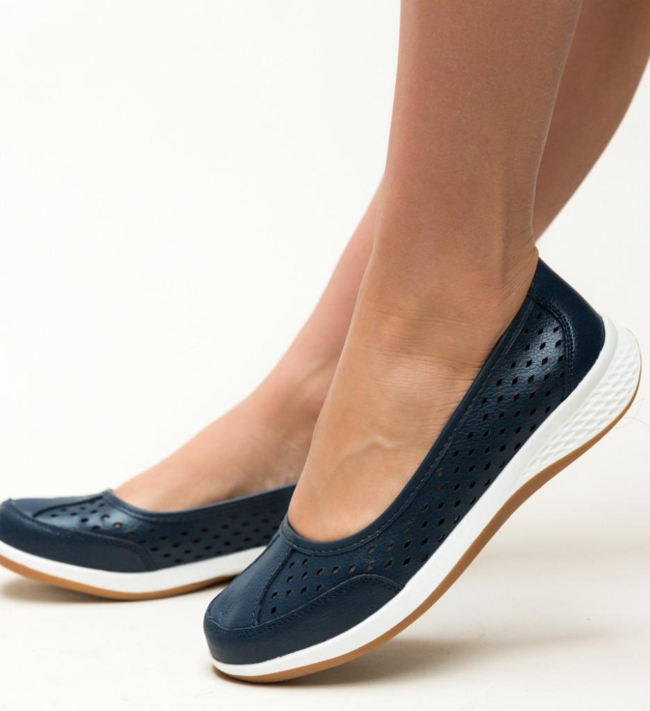 Pantofi Casual Anhel Bleumarin