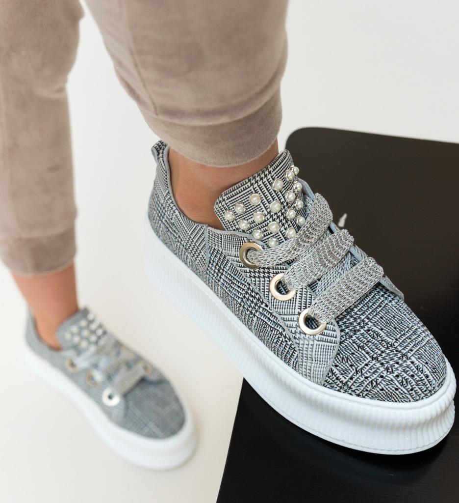Pantofi Casual Blinders Albi imagine