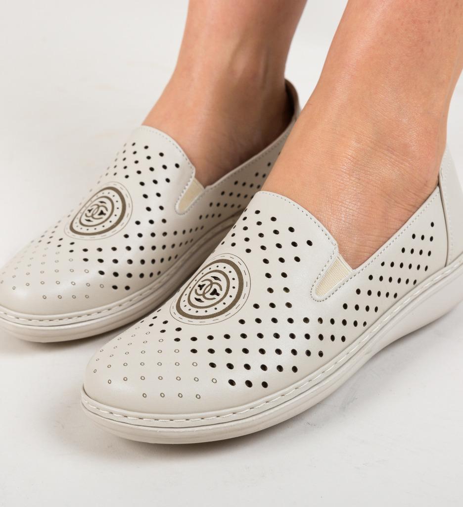 Pantofi Casual Bludika Bej