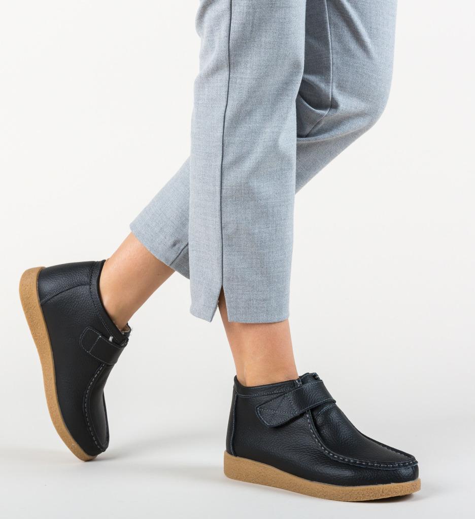 Pantofi Casual Debir Negre