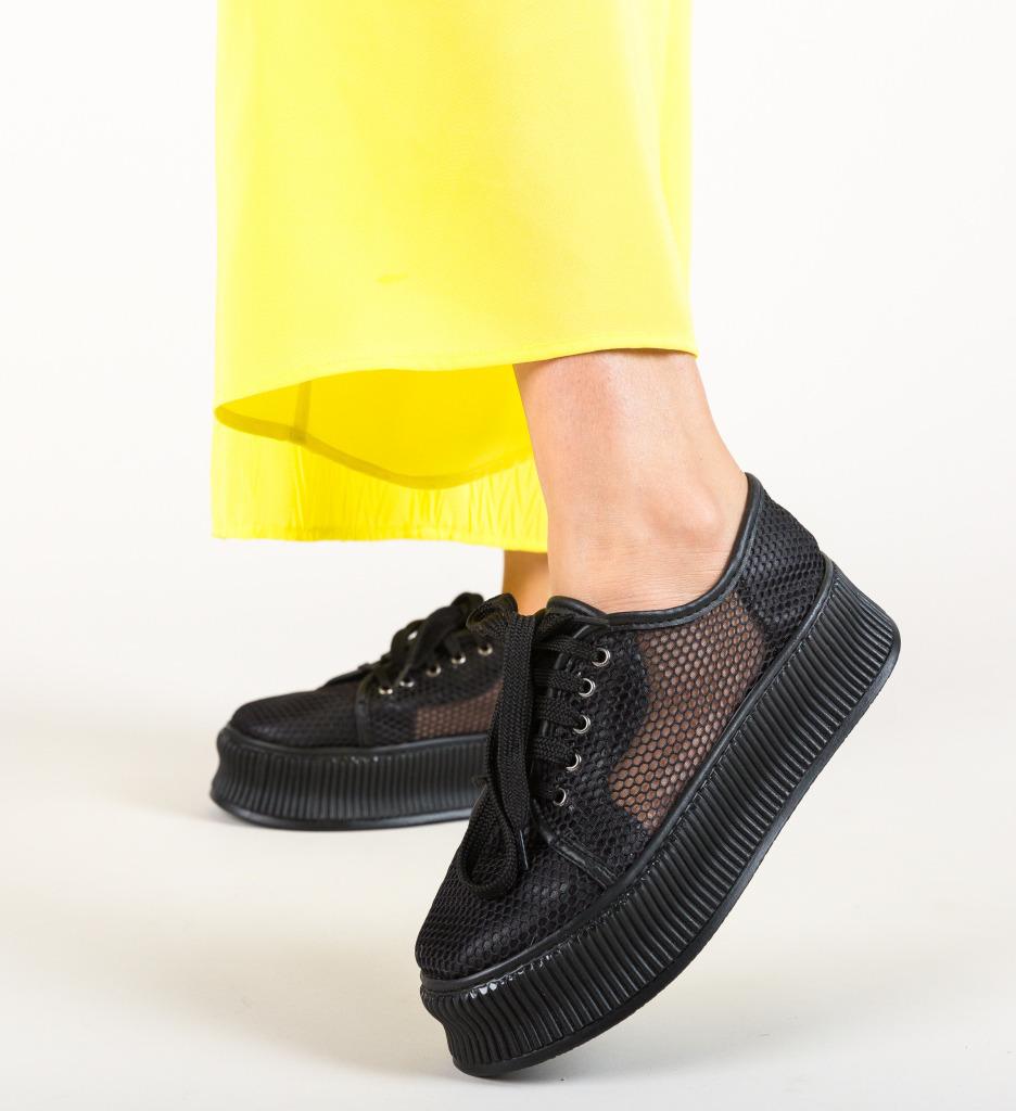 Pantofi Casual Doheris Negri