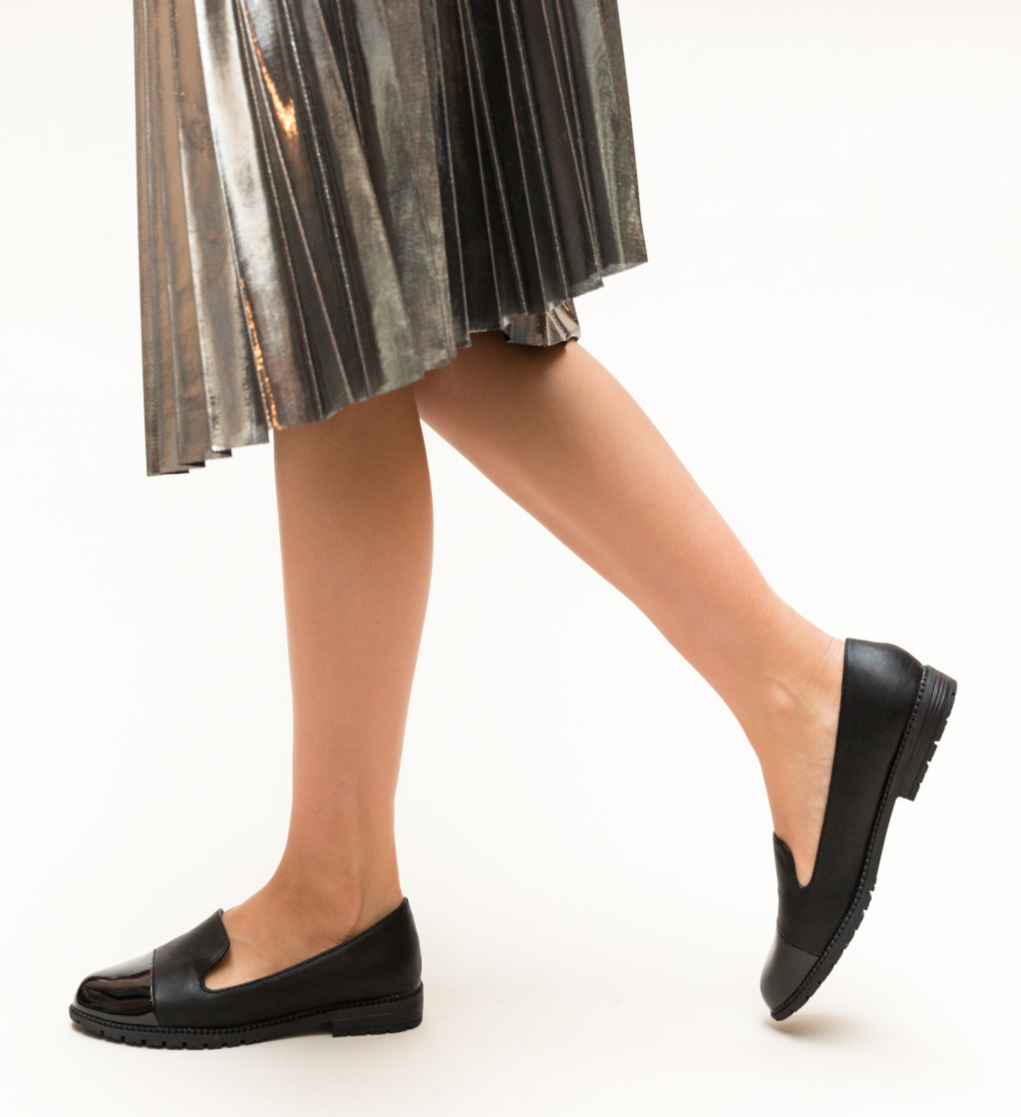 Pantofi Casual Drone Negre