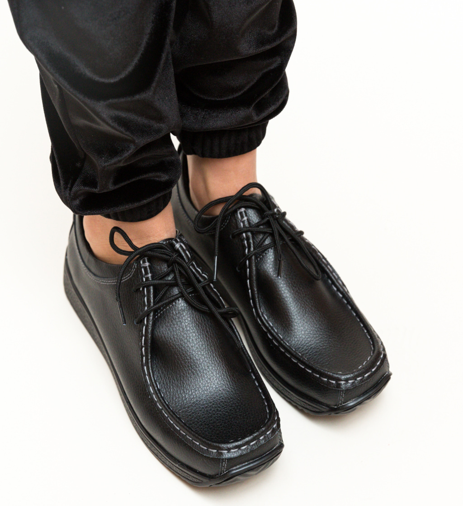 Pantofi Casual Helvetic Negri 2