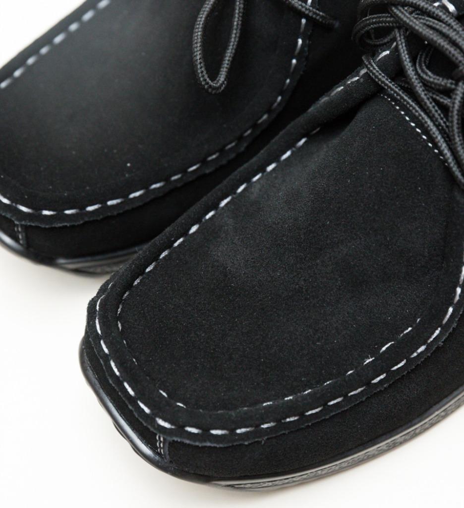Pantofi Casual Helvetic Negri imagine