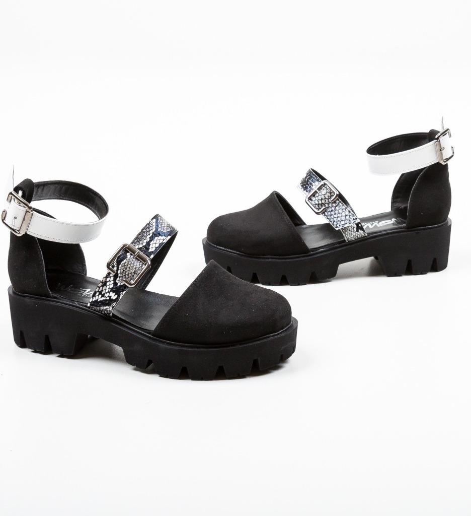 Pantofi Casual Jailala Negri