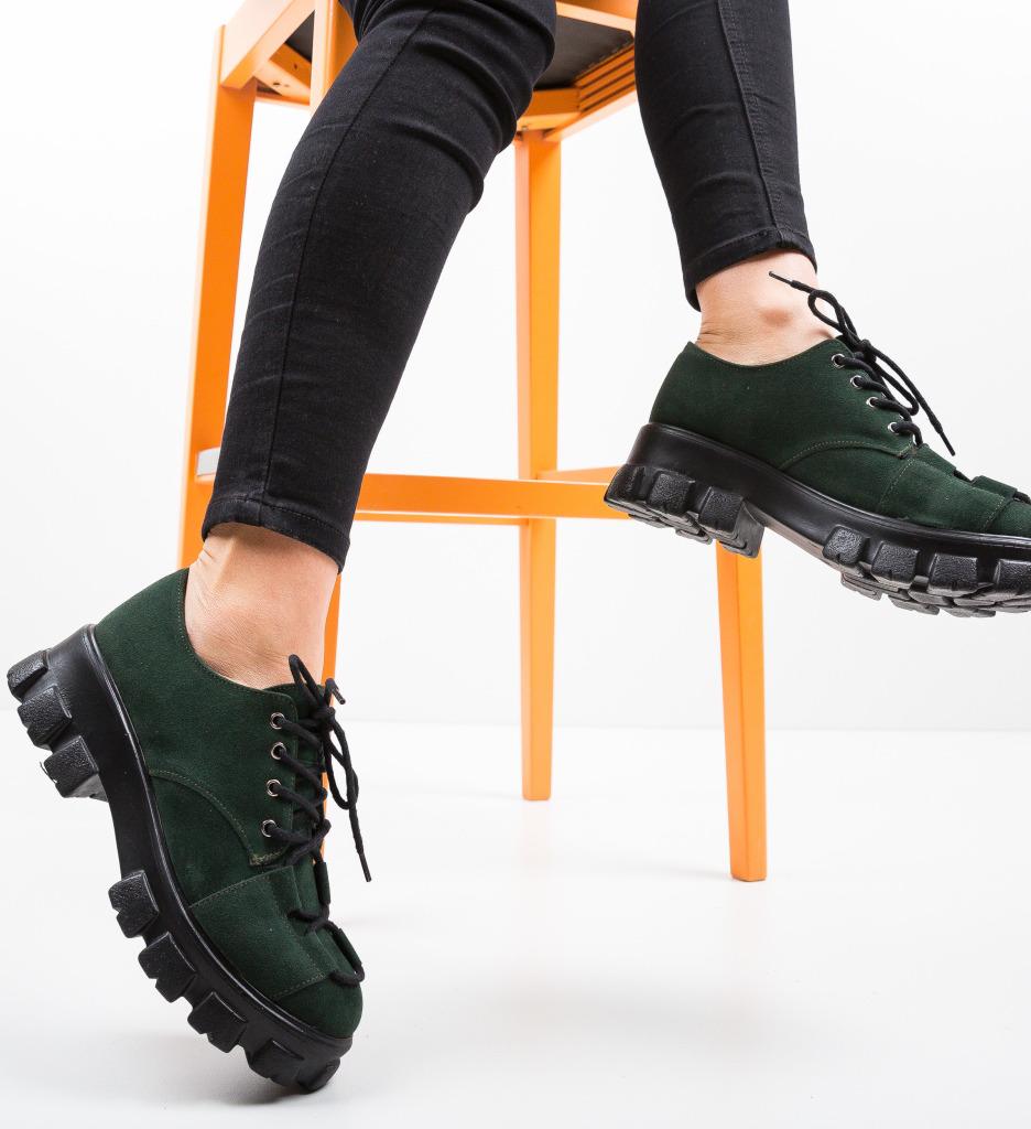 Pantofi Casual Rabcos Verzi