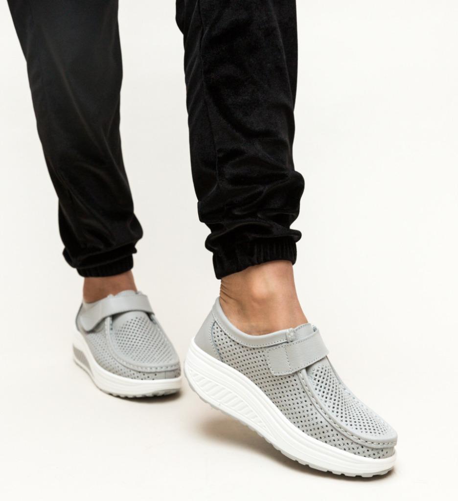 Pantofi Casual Savage Gri