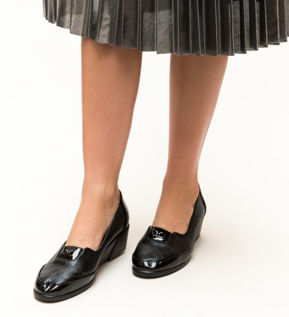 Pantofi Casual Ultim Negri 2 imagine