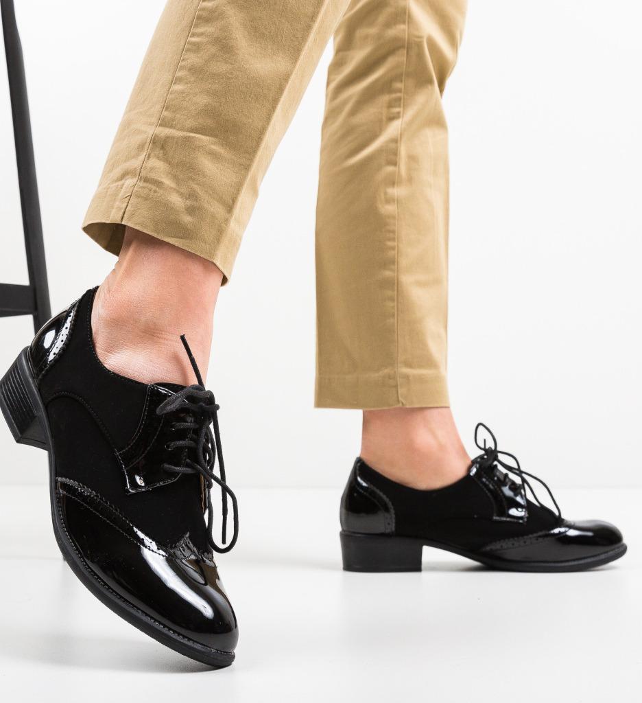 Pantofi Casual Viego Negri