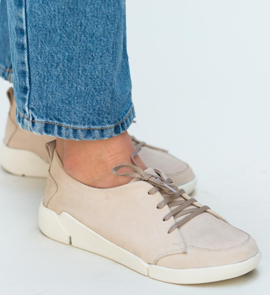 Pantofi Casual Viena Bej