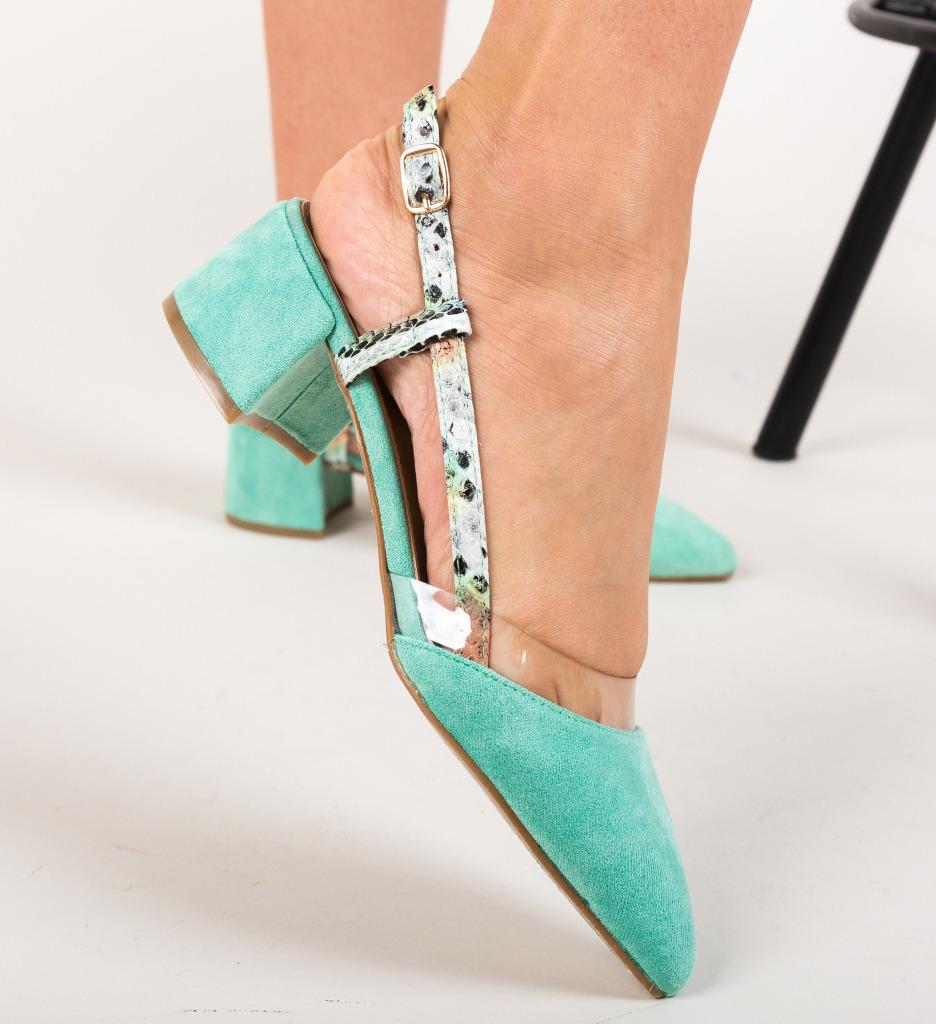 Pantofi Conall Verzi imagine 2021