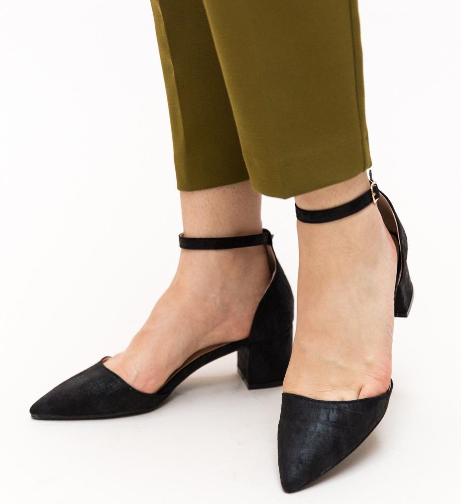 Pantofi Devlin Negri