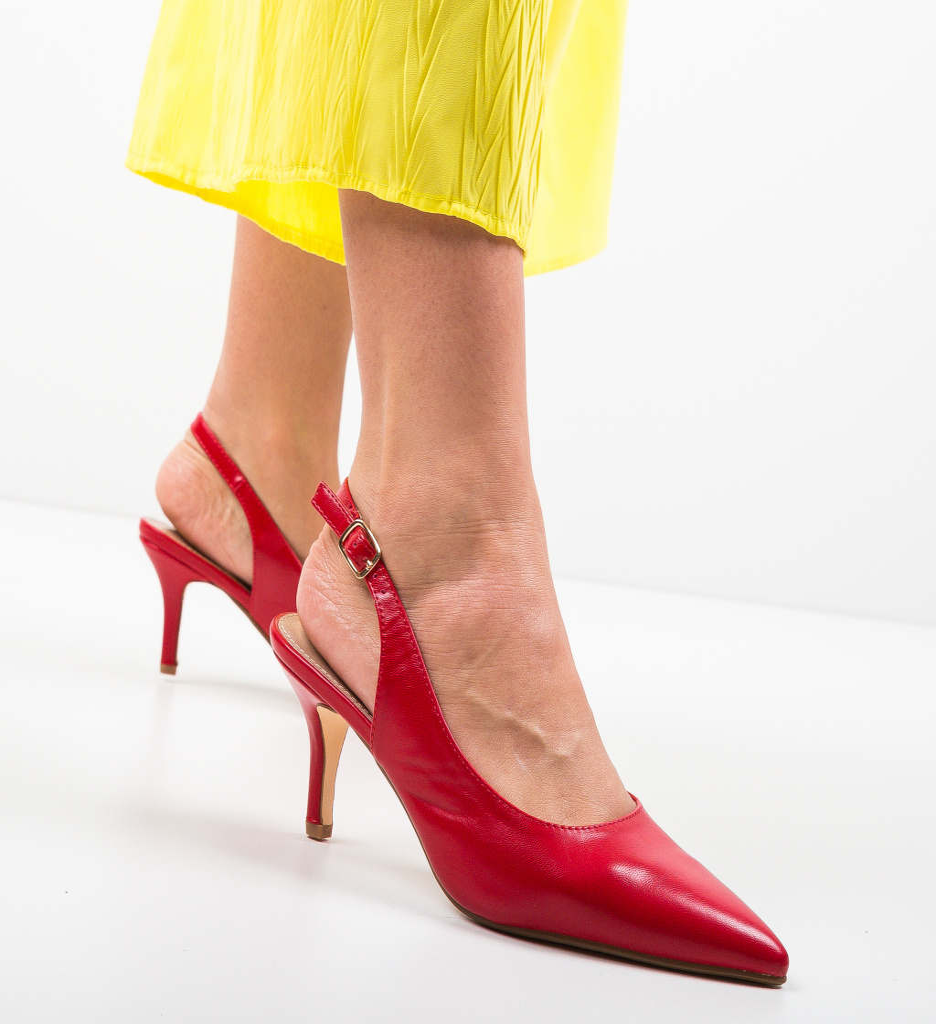 Pantofi Farpi Rosii
