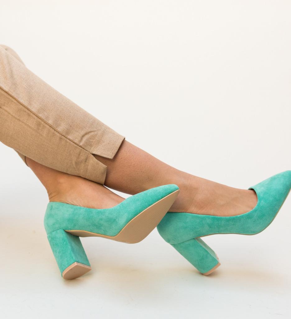 Pantofi Faulker Verzi