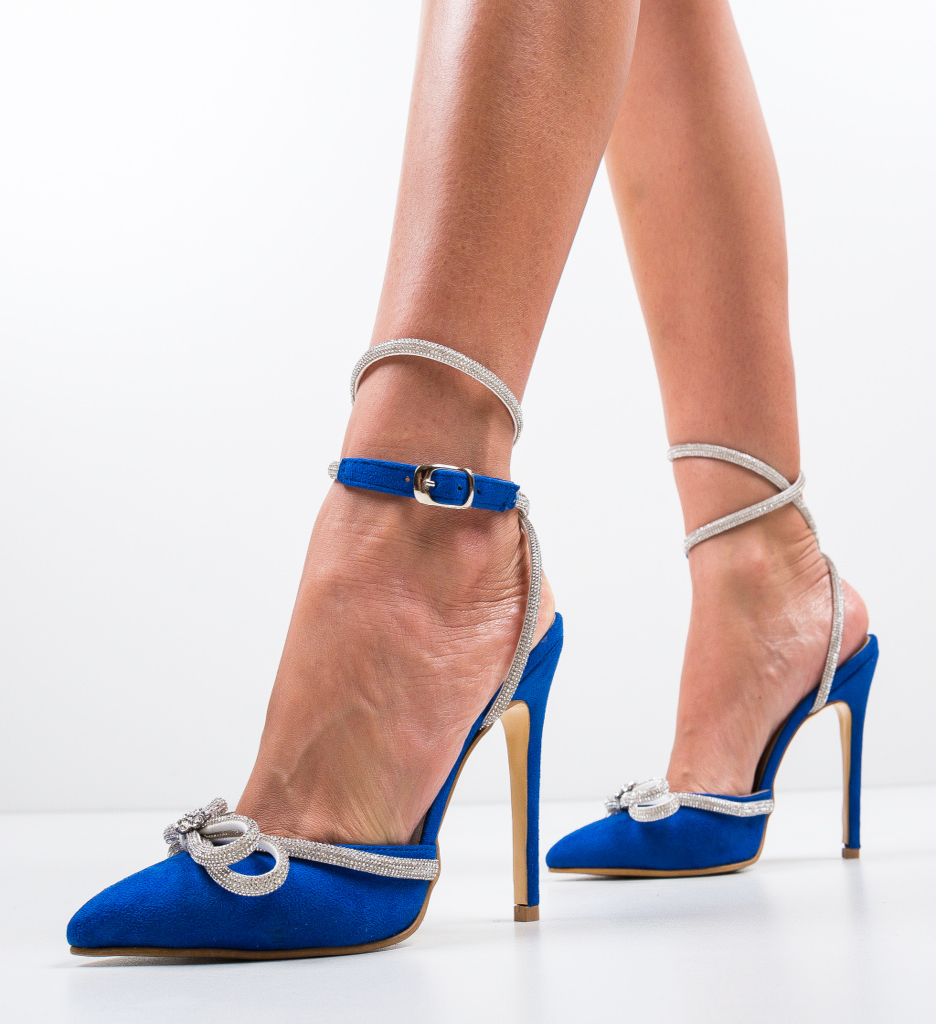 Pantofi Ferar Albastri