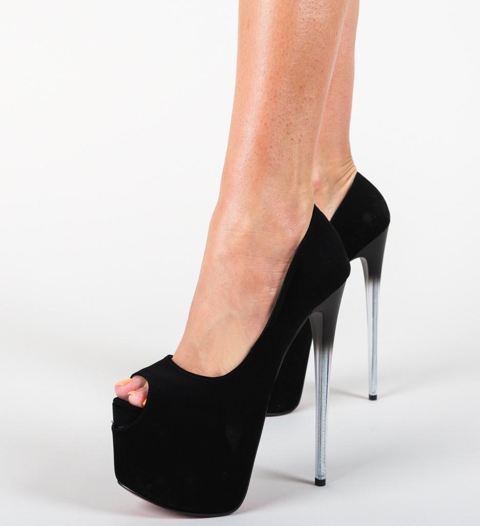 Pantofi Gala Negri