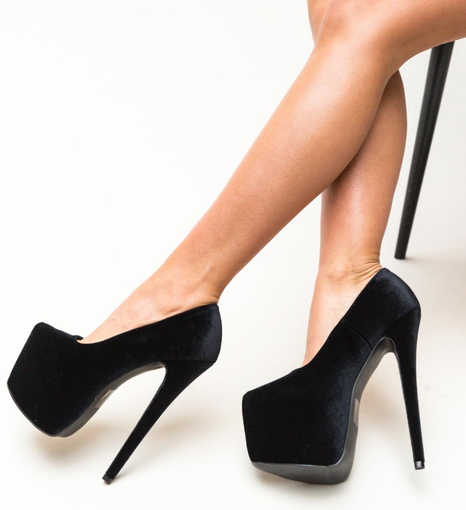 Pantofi Grady Negri