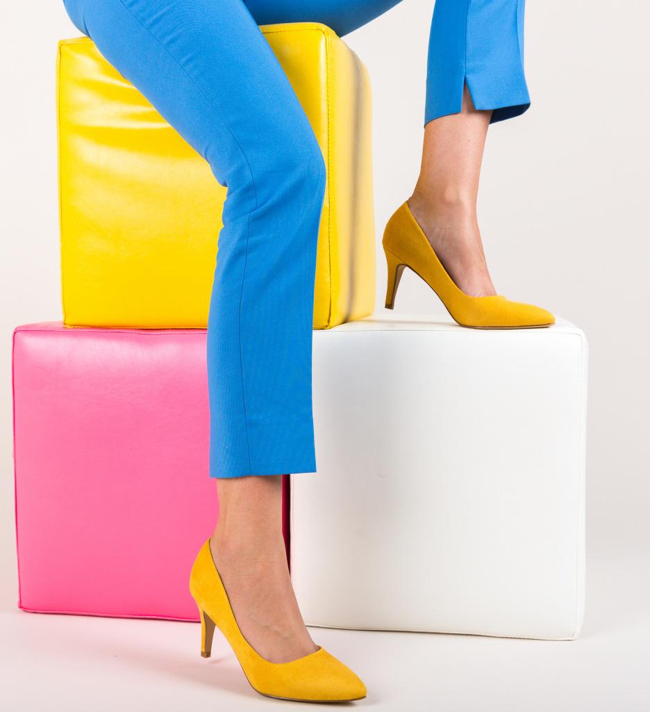 Pantofi Hipor Galbeni imagine